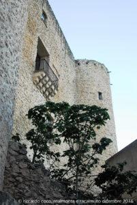 Uno scorcio del Castello dei Chiaramonte che risale al periodo della conquista normanna