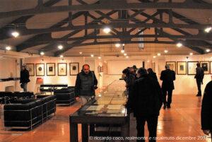 L'interno della Fondazione Sciascia, realizzato in un edificio già sede di una centrale elettrica dell'ENEL, acquistato dal Comune di Racalmuto e trasformato - su progetto dell'arch. Antonio Foscari dell'Università di Venezia - in sede della Fondazione