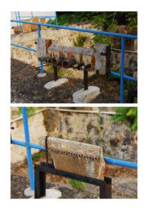 """Per regolare i flussi di acqua da destinarsi, specie all'uso agricolo, l'acqua veniva fatta passare attraverso vari tubi che fungevano da unità di misura per la portata idrica adottata nel Regno di Sicilia fino alla parificazione avvenuta sotto il regime sabaudo. Una delle più note era """"la zappa""""."""