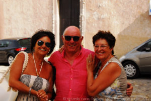 Eccoli, insieme a Pia, Maurizio e Antonella, una bella giornata tra Trapani Erice e le Saline di Culcasi.