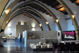 Il museo è ospitato in un antico baglio costruito intorno al 1880 come stabilimento vinicolo.