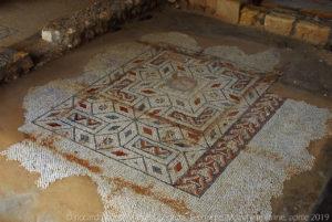 Alle spalle del grande edificio si trova il vastissimo terreno entro cui sono stati trovati i resti dell'antica città di Lilibeo, insulae romanae i cui mosaici sono esposti al museo, ed un perfetto decumano.