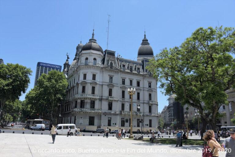 Palacio de Gobierno de la Ciudad Autonoma de Buenos Aires (Il municipio di Buenos Aires).