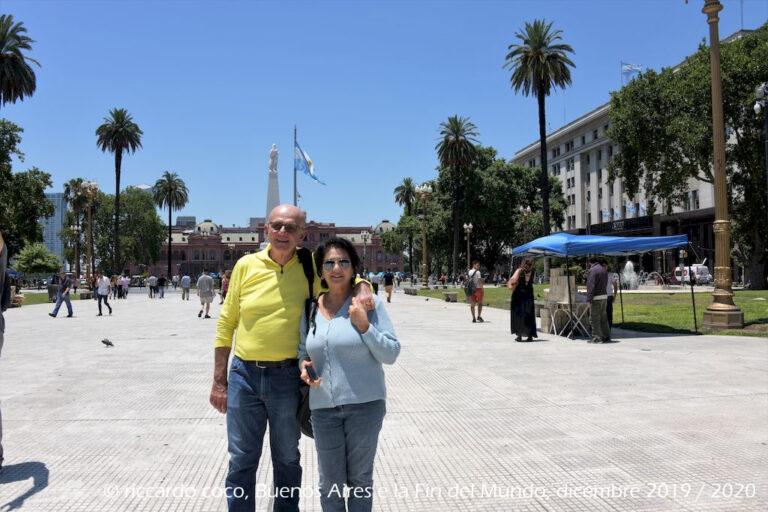 Sempre i soliti turisti, sempre loro …., Anche a Buenos Aires !!!