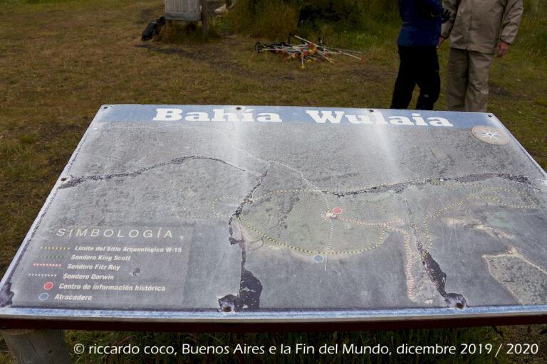 Nella baia Wulaia c'è un sito archeologico, dove sorgevano i primi insediamenti Yaghan