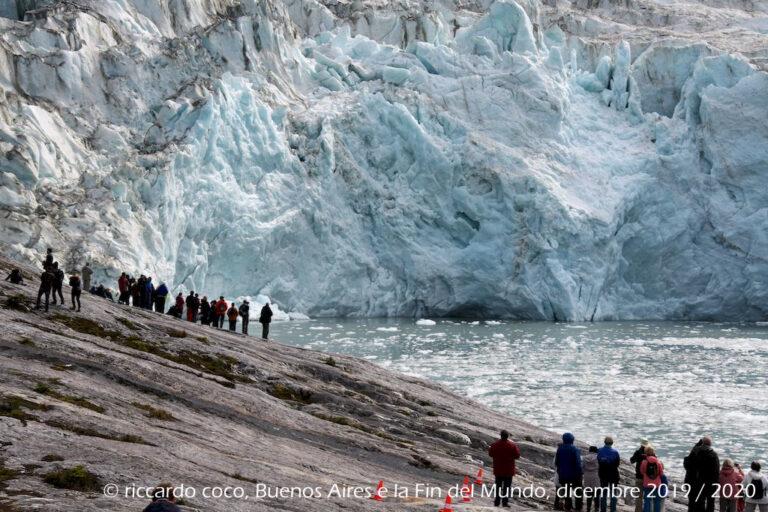 Spettacolare e affascinante il panorama del ghiacciaio Pia