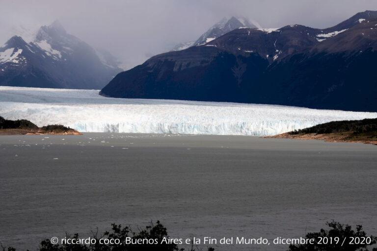 Vista del fronte SUD del ghiacciaio Perito Moreno