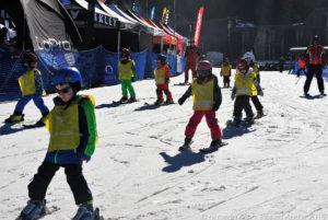 Si comincia sciare da piccoli, anzi da piccolissimi ...