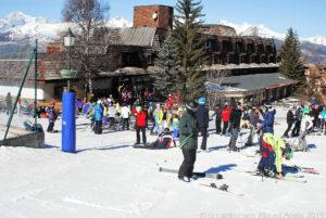 Numerosi condomini a Pila hanno accesso diretto alle piste da sci