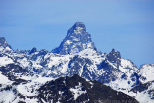 Il monte Cervino è inconfondibile !!!