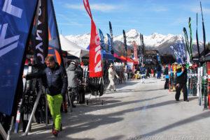Il SIGB Snow Test è l'occasione per provare e comparare vari tipi di sci