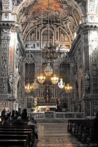 Visita alla chiesa, il monastero ed i tetti di Santa Caterina d'Alessandria, con gli amici del Club di Territorio di Palermo del TCI – aprile 2019