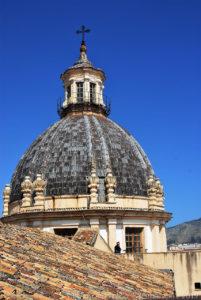 La cupola di Santa Caterina d'Alessandria.