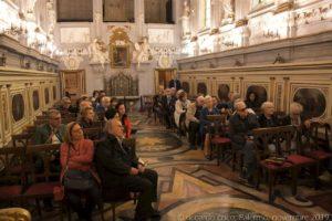 Soci e simpatizzanti del Club di Territorio di Palermo del TCI durante la visita.