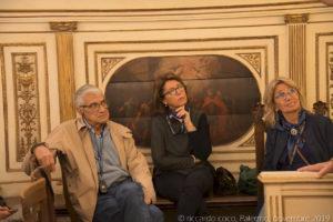 Il Console del Club di Territorio di Palermo del TCI Fabio Rocca insieme a Laura Bonanno e Serena Gentile.